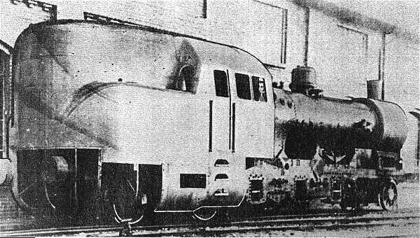 The L 252 Beck B 252 Chener Steam Motor Locomotive