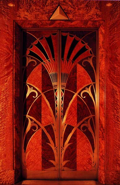 Chrysler Building Lift Doors